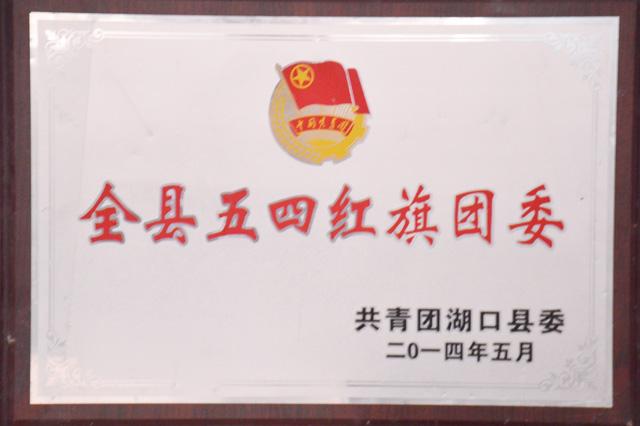 全县五四红旗团委